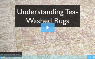Understanding Tea-Washed Rugs