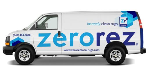 Zerorez van on a rug